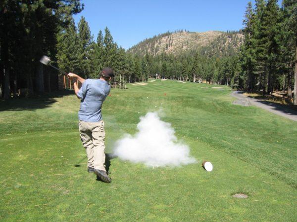 mere tålmodighed på golfbanen